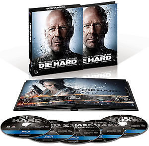 Coffret 25ième anniversaire Die Hard Bluray 4 films