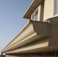 EAVESTROUGHS- installing, fixing and cleaning