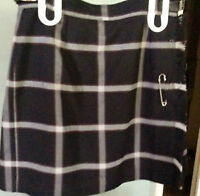 St Mary's high School Woodstock Plaid Kilt/Skort