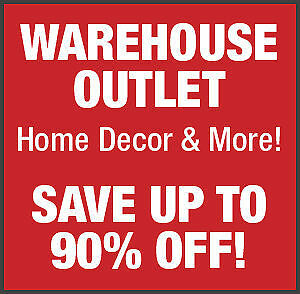 HOME DECOR OUTLET - Save 50%-90% off Retail!