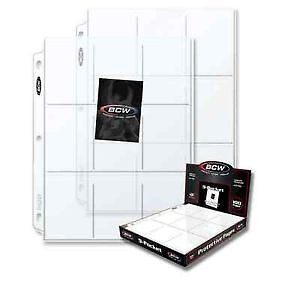 """3"""" Free-Standing Binder with 100 9-Pocket Sport Card Pages Prince George British Columbia image 3"""