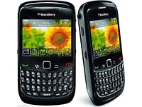 BLACKBERRY curve 8520 - Black - (UNLOCKED) Mobile smartphone