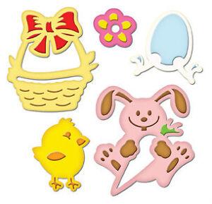 Spellbinders Shapeabilities 5-pc Die Set - Easter Fun - $25