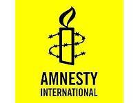 Team Leader - Street Fundraising – Amnesty International UK - Kent - £10.50-£11.50/hour