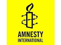 Coach - Amnesty International UK - Street Fundraising Campaign - North - £12.00 - 12.50/hour