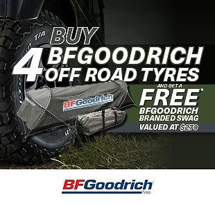 BF Goodrich All-Terrain T/A KO2  - New 4X4 Tyres From $225