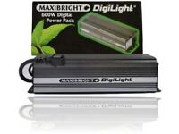 Hydroponics grow light power pack