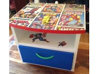 Marvel Character Bedside/TV Table