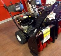 "CLEARANCE Craftsman 24"" snowblower at Sears in Brandon"