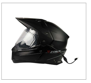***ZOAN DUAL SPORT HELMET WITH ELECTRIC SHIELD***