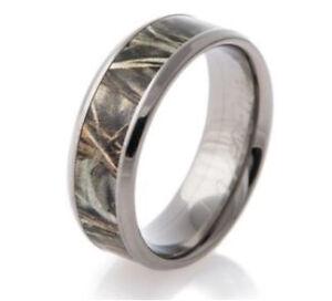Men's Real Tree Titanium Steel Ring