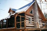 LOG  HOME  REPAIRS &  RESTORATION