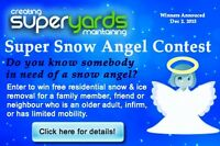 FREE SNOW REMOVAL CONTEST from SUPERYARDS!
