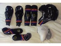 Tae Kwon-Do set of children's protective gear (8 items)