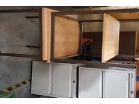 File Cabinets metal grey various sizes