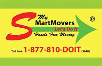 My Smart Movers. $80 an hour promotion