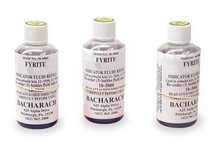 Bacharach 10-5057 Replacement Fluid,Pk3