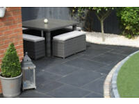 Black Slate Paving Patio Paving Brazilian Black Paving Slabs Patio Slabs