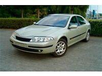 Renault Laguna, 2004, Silver, DIESEL, 89k Genuine LOW Mileage, Long Mot, Full Service History