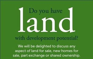 Wanted, Land For Sale in the GTA