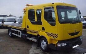 CAR RECOVERY VAN BREAKDOWN VEHICLE 24/7 TOWING TRANSPORTER SERVICES IN LONDON