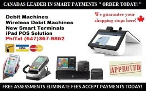 DEBIT MACHINES, POS SYSTEMS, NEW SMART PAYMENT TERMINALS!