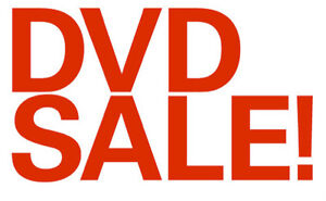 List of assorted DVD'S for sale