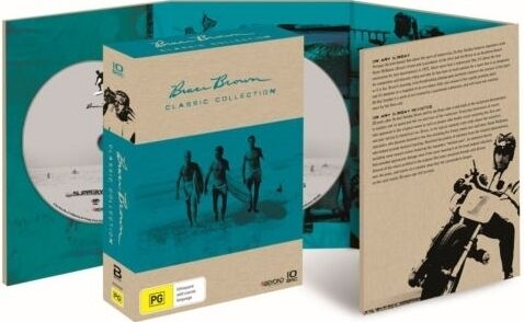 BRUCE BROWN Films - Classic Collection DVD 10 FILMS SURFING BRAND NEW RELEASE R4