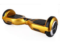 SMART GOLD ELECTRIC LED BALANCE 6.5 INCH 6.5INCH WHEEL BOARD UK