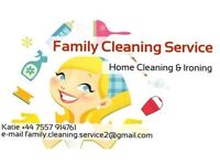 House cleaning and ironing service (Family Cleaning Service)