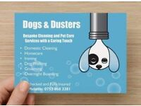 Bespoke Dog Walking and Domestic Cleaning Service