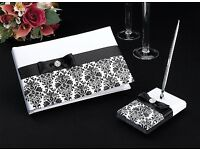 Wedding Guest Book and Pen Set