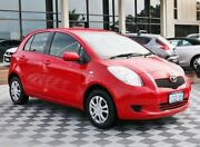 2006 Toyota Yaris NCP90R YR Red 4 Speed Automatic Hatchback Alfred Cove Melville Area Preview