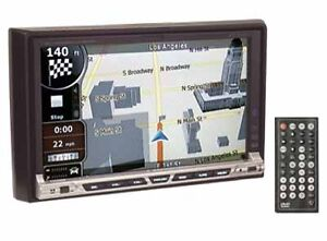 """7"""" Two DIN DVD/CD/MP3/MP4 player with built-in GPS USB SD"""