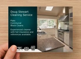 Experienced Cleaner Now Taking New Clients
