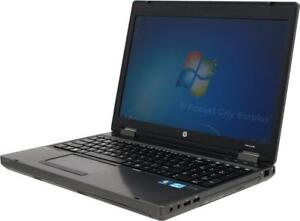 HP PROBOOK 6570P WITH POWERFUL i5 PROCESSOR -- WE HAVE A HUGE SELECTION OF OFF-LEASE CORPORATE COMPUTERS!!