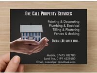 ONECALL, PROPERTY MAINTENANCE & HANDYMAN SERVICES.