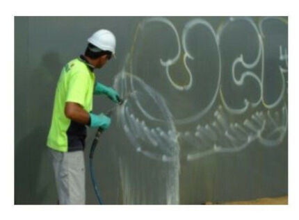 High Pressure Cleaning, Graffiti & Bore Stain Removal