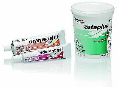 Zetaplus Putty C-silicone Impression Material 900ml By Zhermack Long Exp