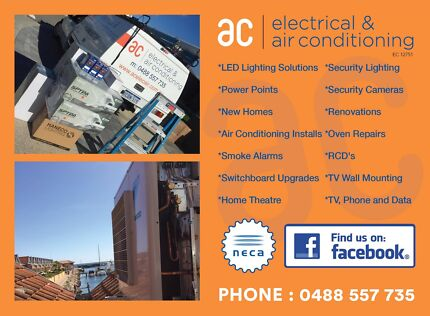 Need an electrician? Look no further!