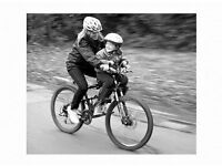 Co-Rider Front Mounted Child Bike Seat (for children too big for a Weeride)