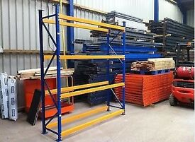 Apex LongSpan Commercial Heavy Duty Industrial Warehouse Shelving Pallet Racking Units For Sale