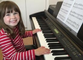 Piano Lessons in Ratho - All ages, abilities and styles of music - Fun, engaging teacher.