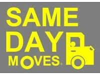 MAN & VAN SERVICE | ANY MOVES | SAME DAY | FROM £20