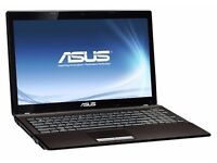ASUS A53U LAPTOP BLACK,320GB 4GB RAM,GREAT CONDITION!!!