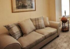 3 seater sofa and arm chair for sale