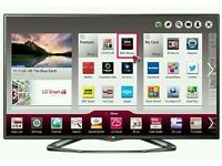 "LG 30"" LED smart wifi built USB MEDIA PLAYER HD FREEVIEW and freesat full hd 1080p ."