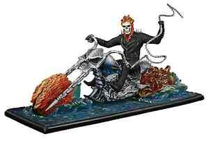 GHOST RIDER ON WATER STATUE