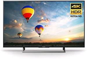 """Sony XBR49X800E 49"""" 4K Ultra HD Smart LCD Television"""