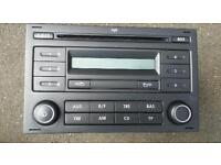VW RCD 200 CAR STEREO RADIO CD-PLAYER POLO FOX TRANSPORTER SHARAN
